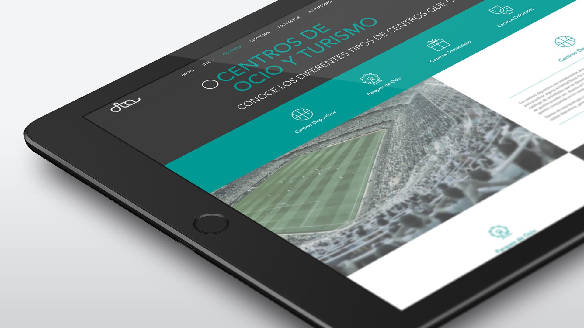 Catálogo digital para DTA Ocio y Turismo